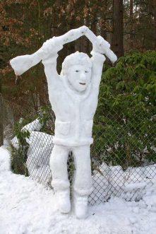 MDR entdeckt Borkwalder Schneefiguren