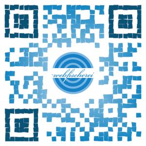 QR-Code für die webfischerei