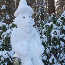 Borkwalder Schneefigur