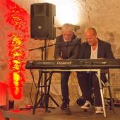 Jes Holtsø und Morten Wittrock im Burgkeller Bad Belzig