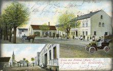 Alte Postkarte von Krielow