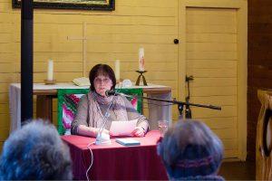 Bürgermeisterin Renate Krüger bei der Leseaktion 2016
