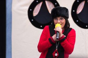 Bürgermeisterin Renate Krüger beim Sommerfest 2014