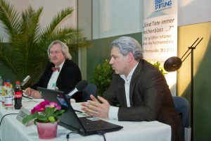 Michael Tsokos und Erardo Rautenberg