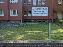 Gymnasium-Fotomontage