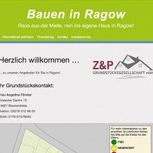 Bauen in Ragow