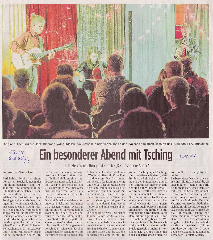 Artikel in der BRAWO / Bad Belzig